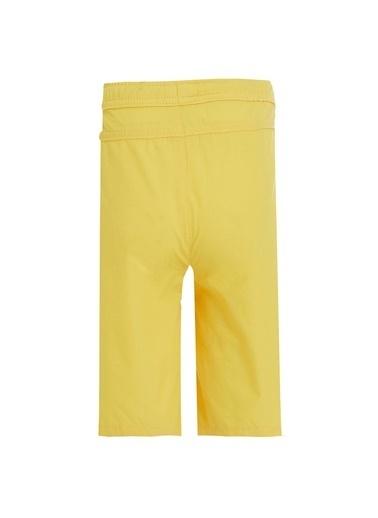 DeFacto Erkek Çocuk Bağcıklı Bermuda Şort Sarı